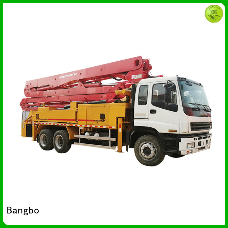 Bangbo used concrete equipment company for construction project