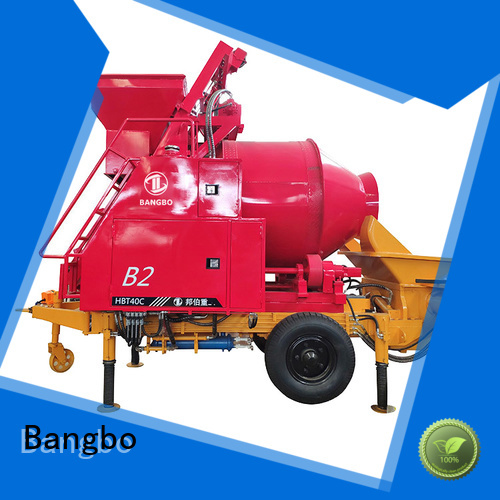 Bangbo concrete mixer machine factory for construction projects