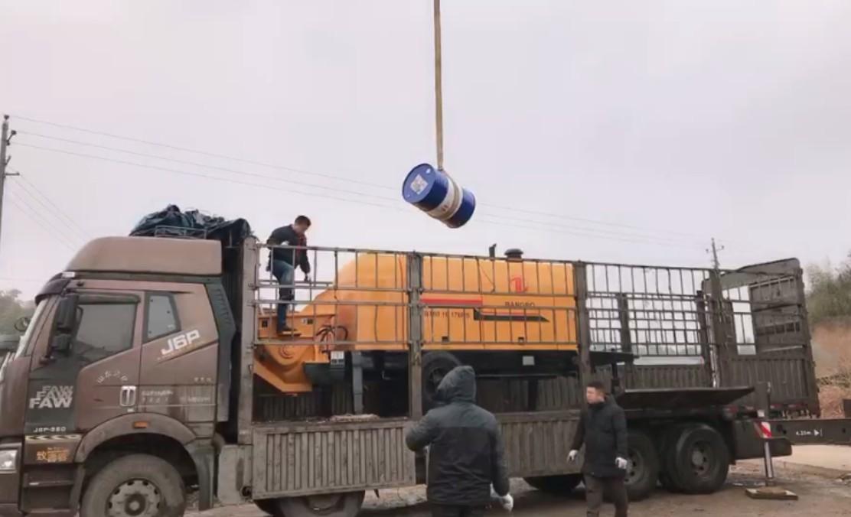 concrete mixer truck (14)