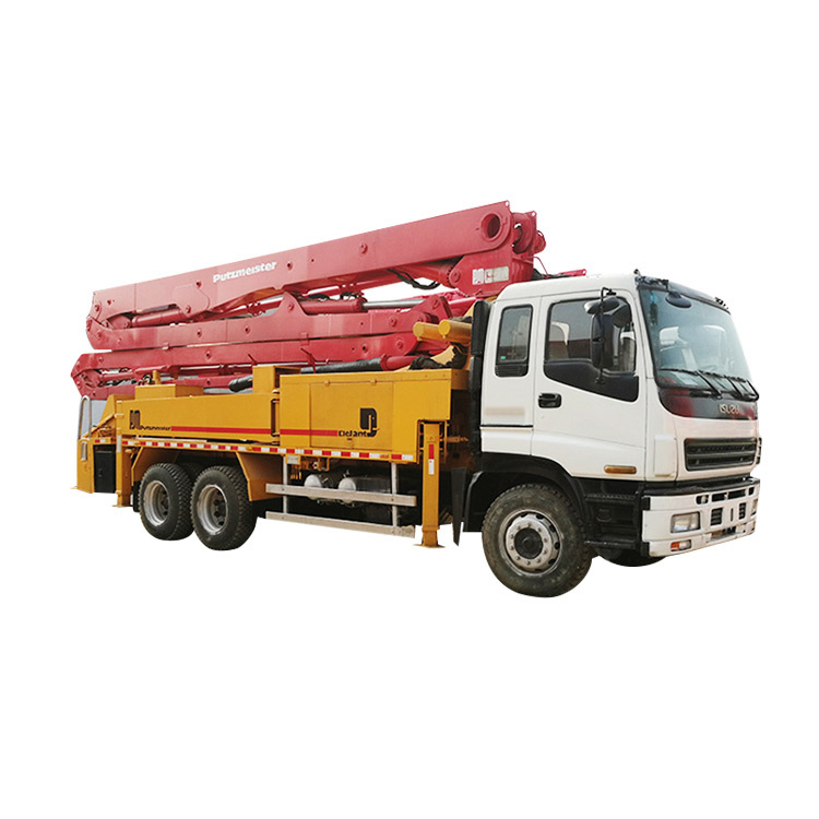 Used concrete pump truck SG5267THB Truck Used Concrete Pump Trucks For Sale