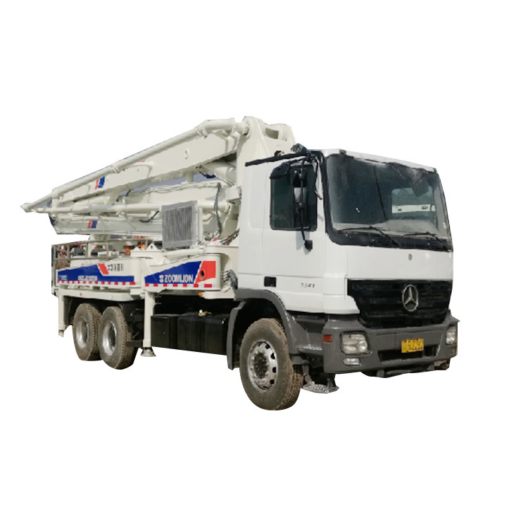 Used Concrete Pump Truck ZLJ52821THB125 Used Concrete Trucks for Sale