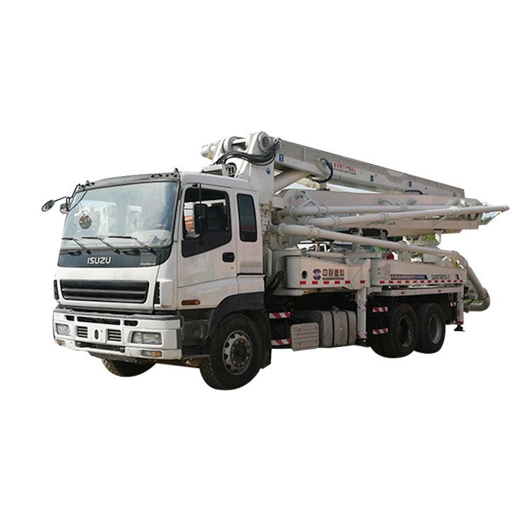 Used Concrete Pump Truck ZLJ5285THB125 Used Concrete Equipment