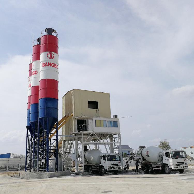 Concrete Batching Plant JS1000 Cement Batching Plant