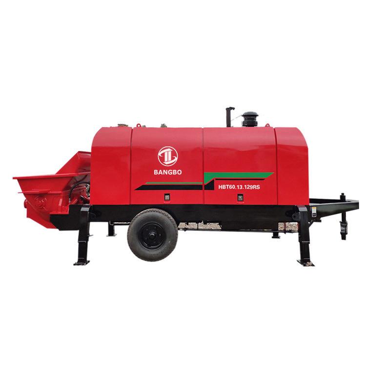 Stationary Concrete Pump HBT60.13.129RS Concrete Pumping Equipment