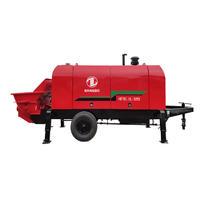 Stationary Concrete Pump HBT80.18.132ES Concrete Stationary Pump