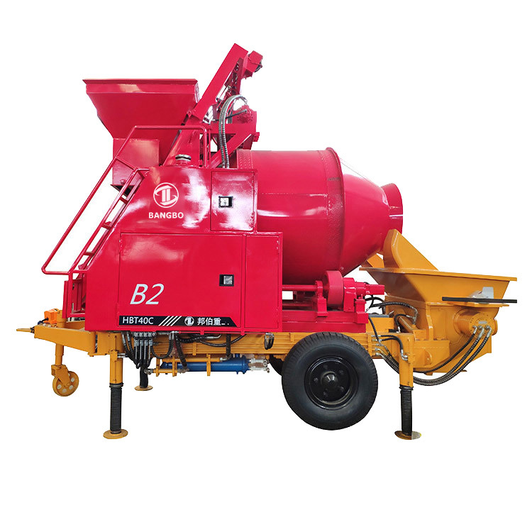 Concrete Mixer With Pump  JBT30.8.45 Cement Mixer With Pump
