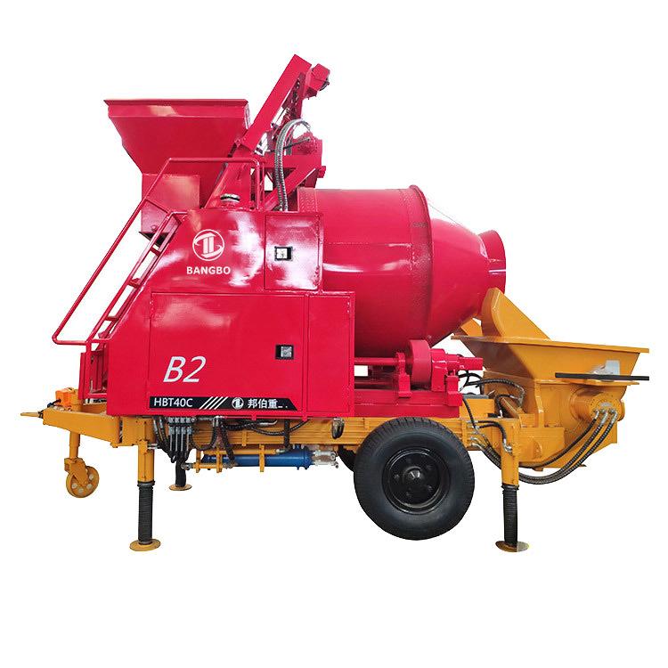 Concrete Mixer With Pump  JBT30.8.45 Cement Mixer With Pump