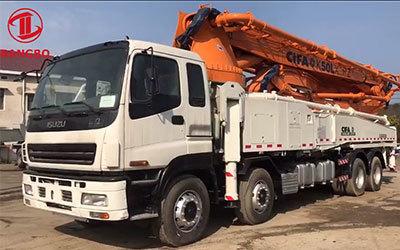 Cifa 50m concrete pump truck with Isuzu chassis ZLJ5400THBK