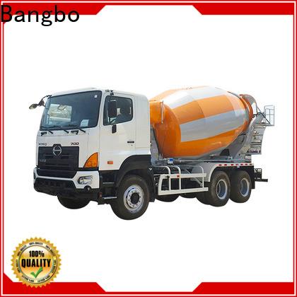 Bangbo second hand concrete mixer trucks manufacturer