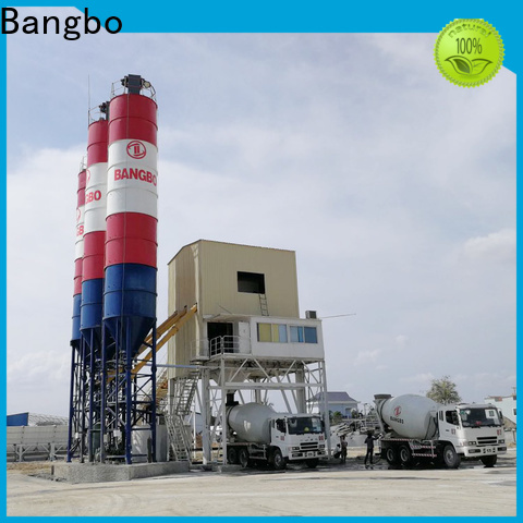 Durable cement mixing plant supplier for mixing concrete ingredients