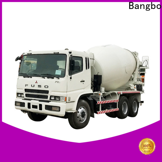 Bangbo Great used truck mixer factory for engineering construction