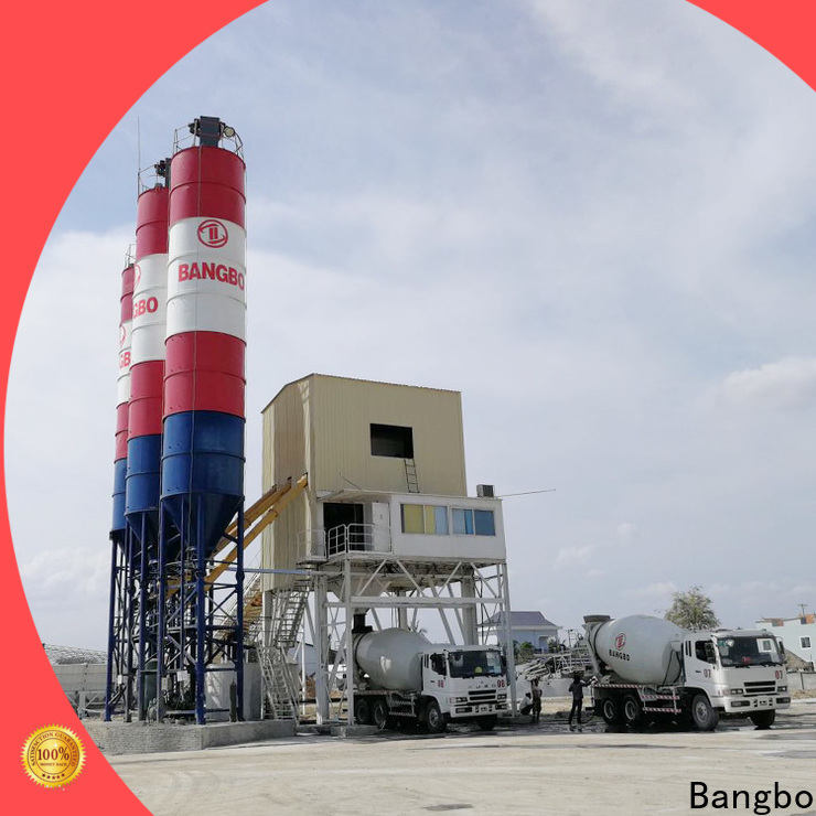 High performance concrete mixing plant manufacturer factory for mixing concrete ingredients