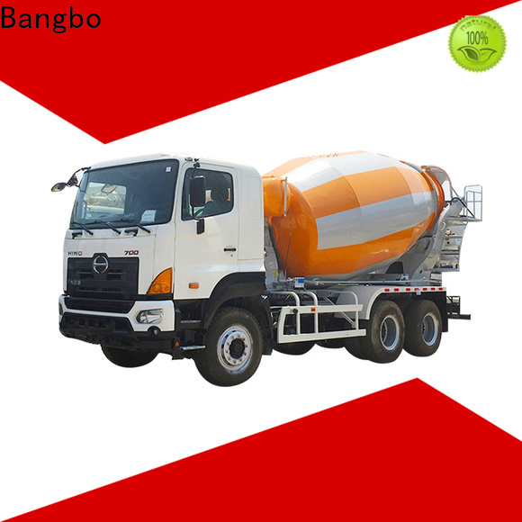 Bangbo High performance used cement truck for sale manufacturer