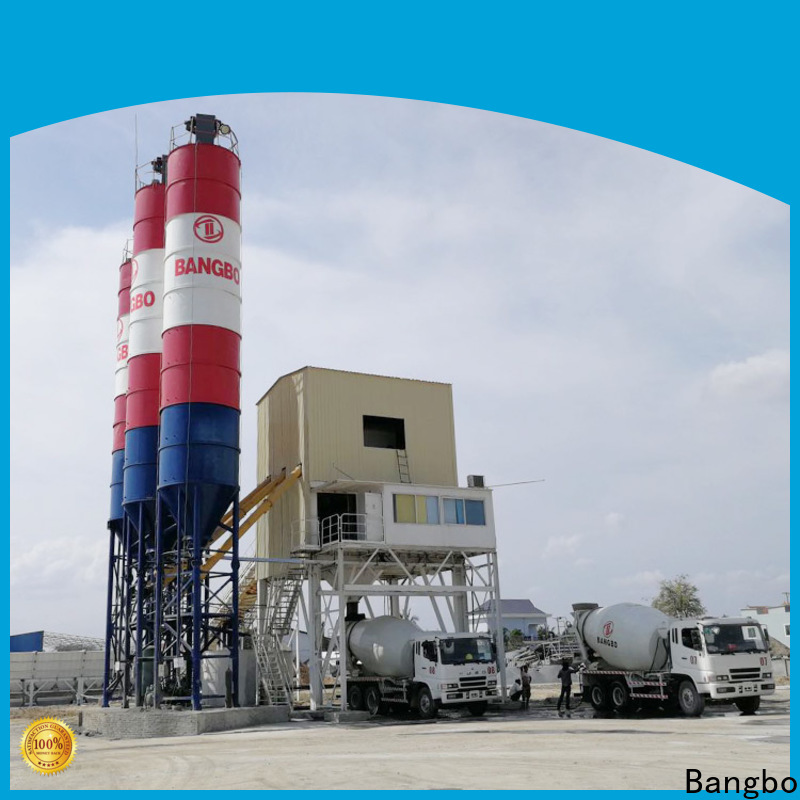 Professional cement concrete plant company for mixing concrete ingredients