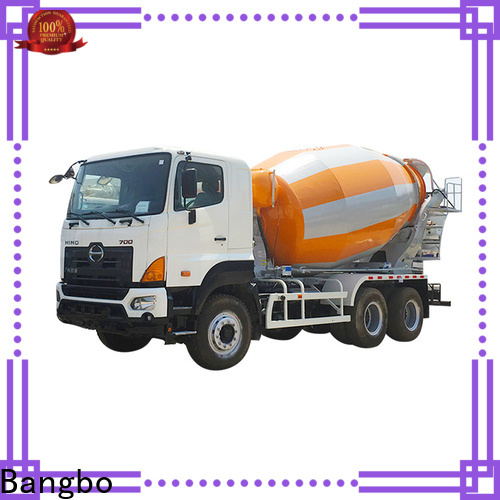Bangbo Professional used cement truck for sale factory for construction industry