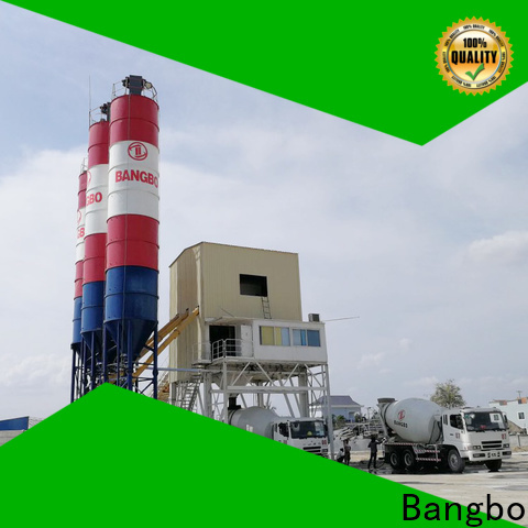 Bangbo batching plant price factory for engineering construction