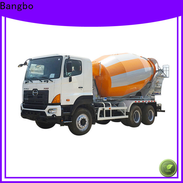 Bangbo used concrete mixer truck manufacturer for engineering construction