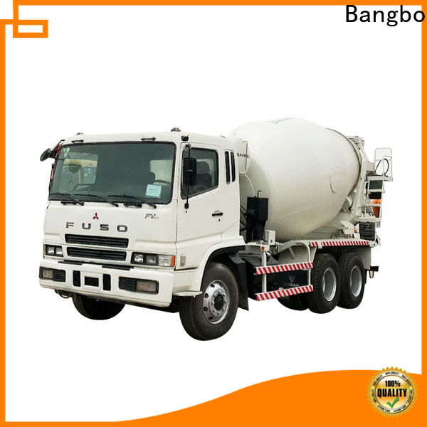Bangbo second hand concrete mixer trucks manufacturer for construction industry