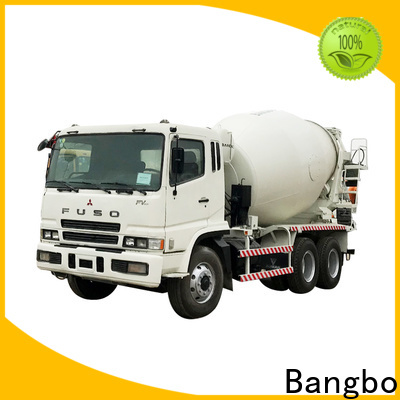 Bangbo used mixer trucks factory for construction industry