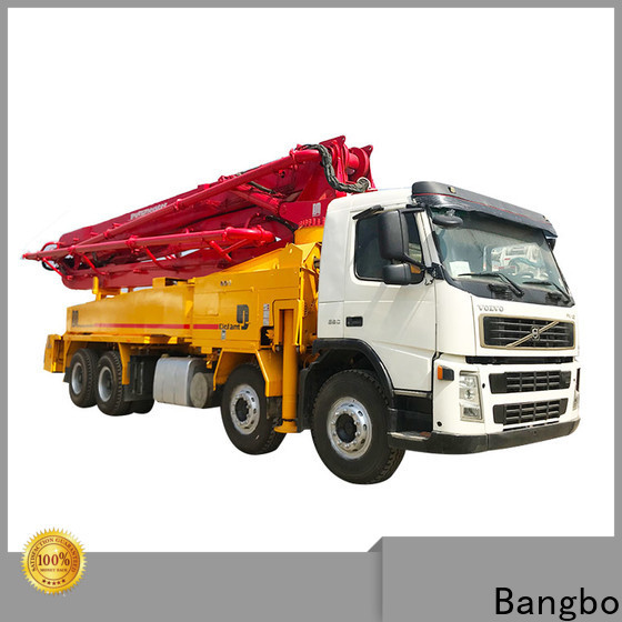 Bangbo concrete mixer pump truck manufacturer for engineering construction