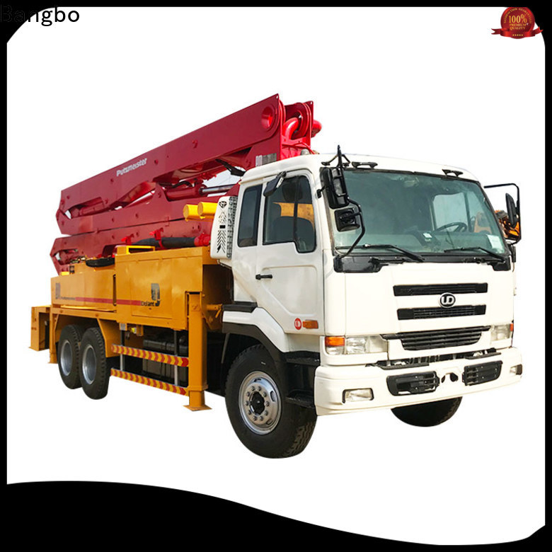 Bangbo Great used concrete trucks factory for construction project