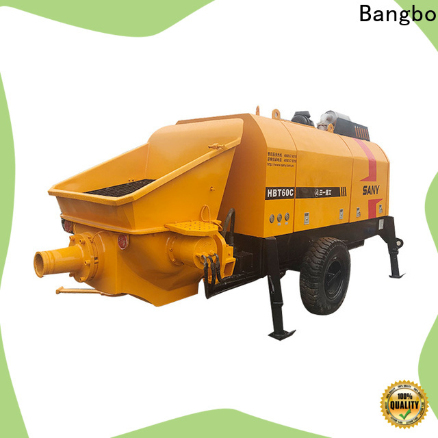 Great cement pumper truck manufacturer for construction projects