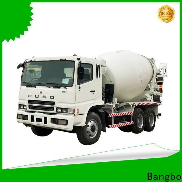 Bangbo High performance used cement mixer truck supplier for construction industry