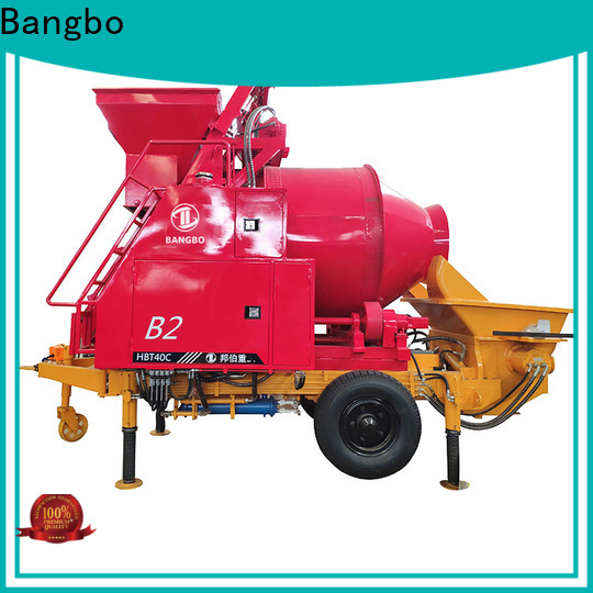 Bangbo concrete mixers supplier for engineering construction