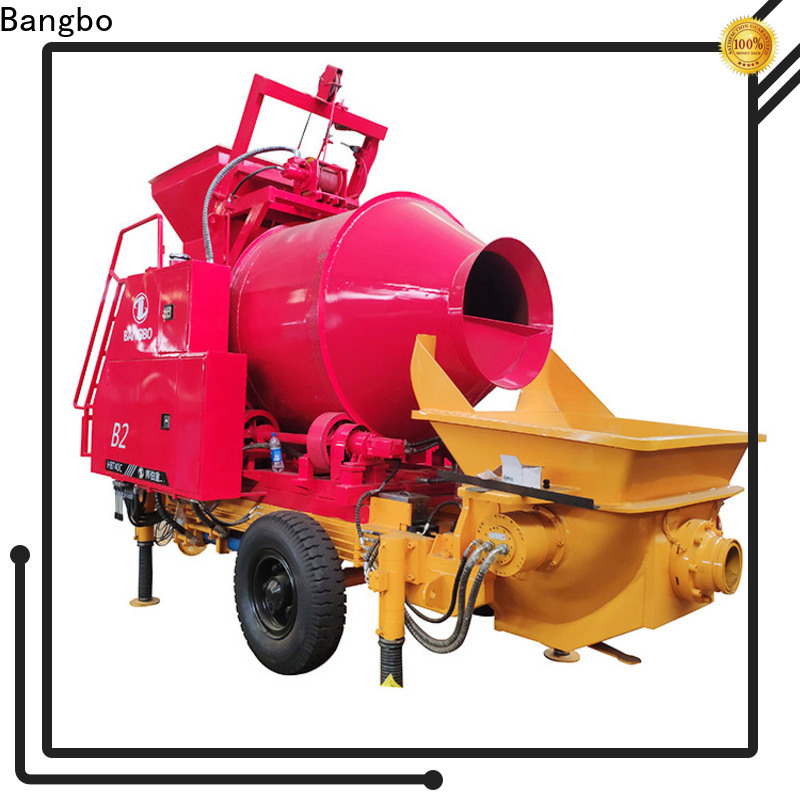 Bangbo industrial concrete mixer supplier for engineering construction
