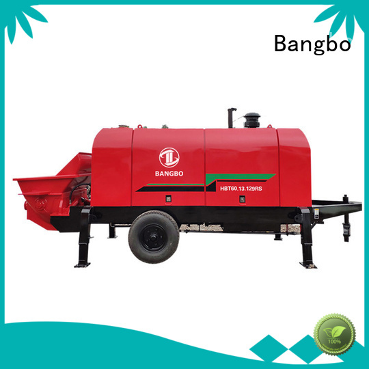 Bangbo stationary concrete mixer manufacturer for construction industry