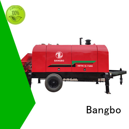 Bangbo fixed concrete pump supplier for engineering construction