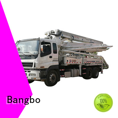 Bangbo used concrete trucks company for engineering construction
