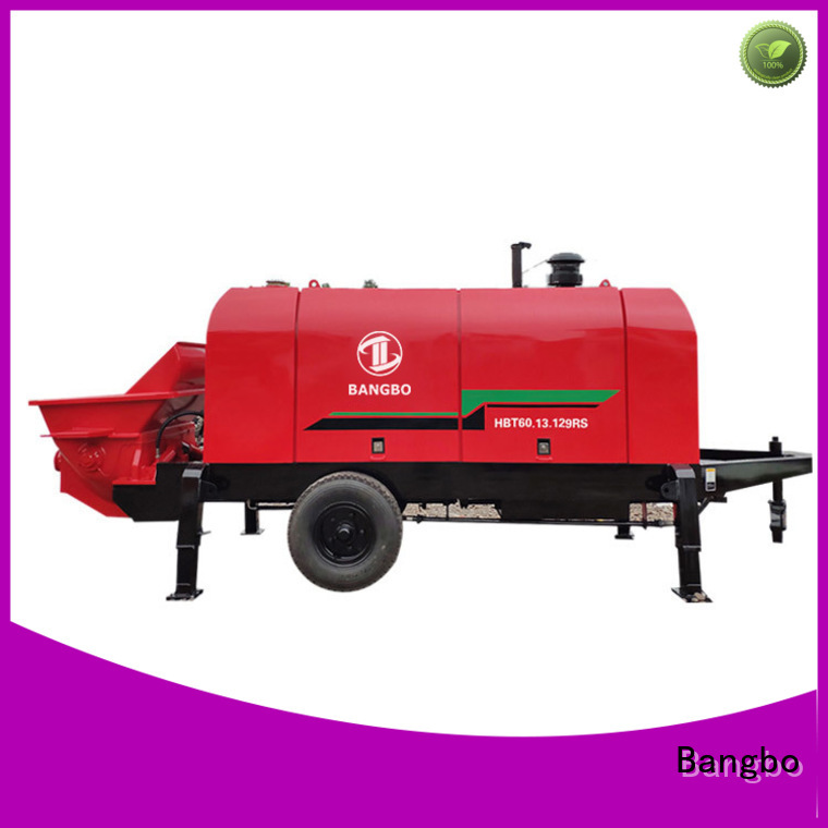 Bangbo stationary concrete mixer factory for construction industry