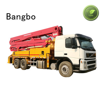 Professional cement pump truck company for engineering construction