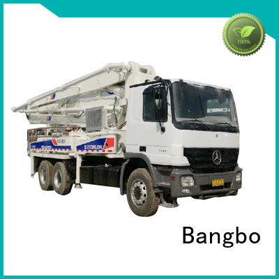 Bangbo Great concrete pump truck factory for engineering construction