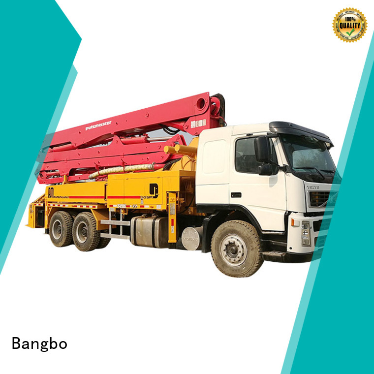 High performance used concrete pump truck manufacturer for engineering construction