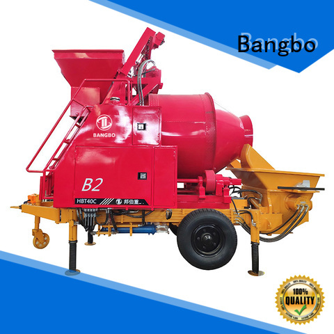 Bangbo Great cement mixer with pump company for engineering construction