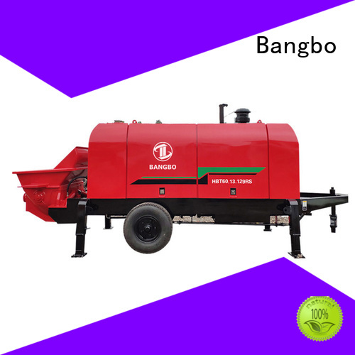 Bangbo concrete pumping equipment manufacturer for construction project