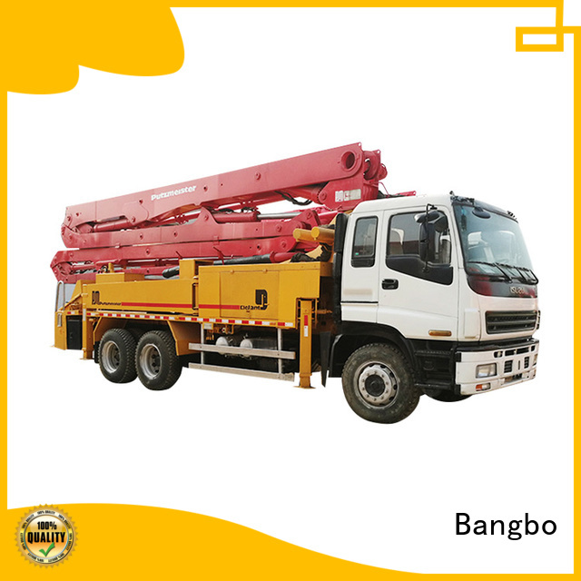 Bangbo High performance used concrete equipment company for construction project