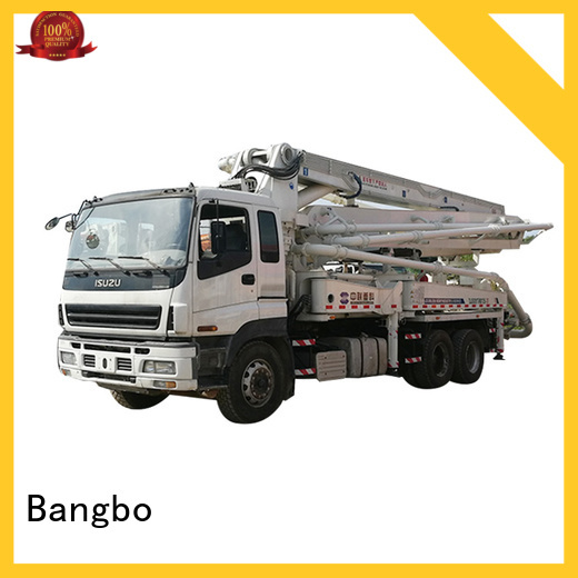 Bangbo used pump truck company for construction project