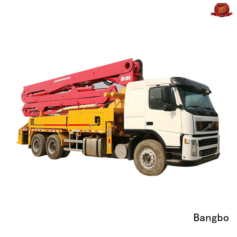 Bangbo Great concrete pump truck supplier for engineering construction