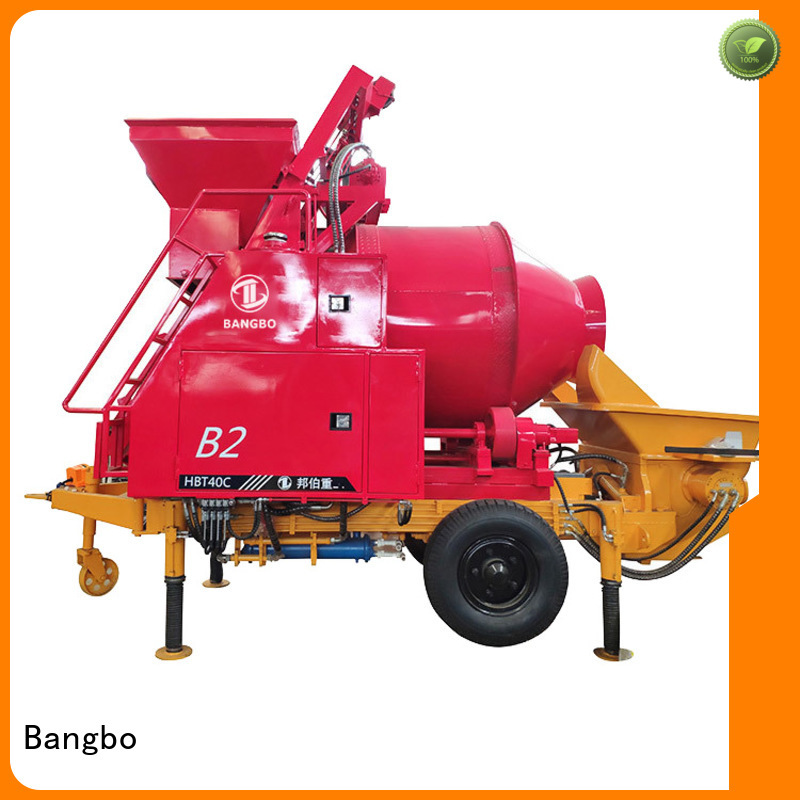 Bangbo Great concrete mixer and pump supplier for construction industry