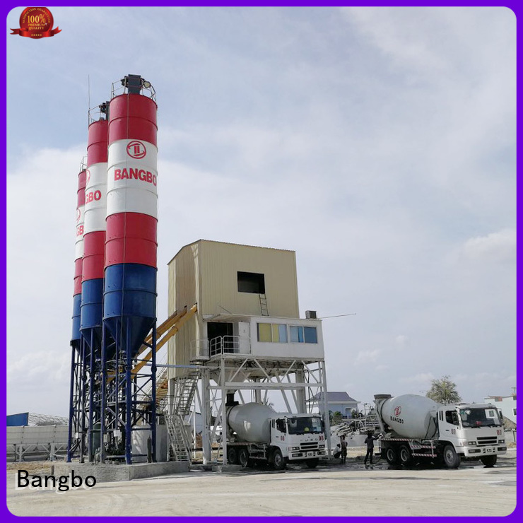 Durable cement batching plant supplier for construction industry