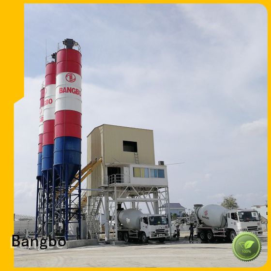 Bangbo concrete batching and mixing plant factory for construction industry