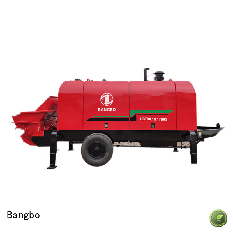 Bangbo Professional stationary pump company for construction project