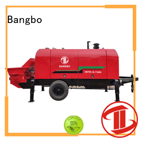 Bangbo stationary concrete mixer supplier for construction industry