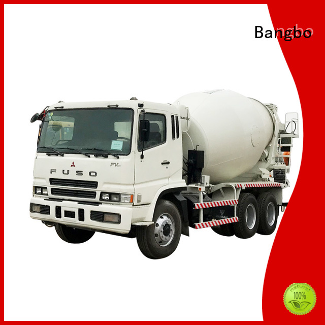Bangbo Great used cement mixer truck factory