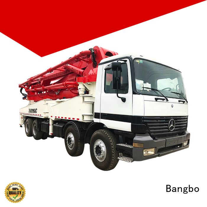 Bangbo Professional used concrete pump truck manufacturer for construction project