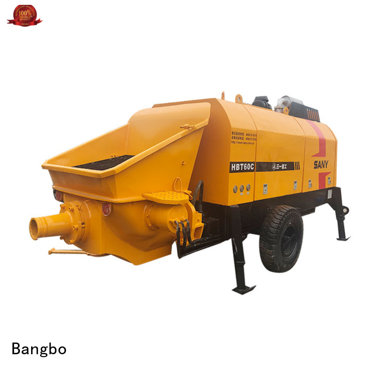 Professional second hand concrete pump factory for construction industry