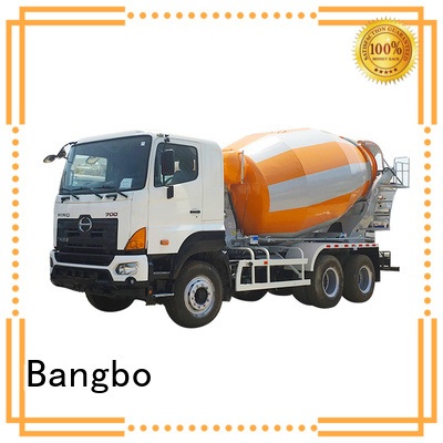 Bangbo Great second hand concrete mixer trucks supplier for construction industry